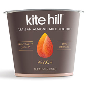 Kite Hill Almond Yogurt - Peach