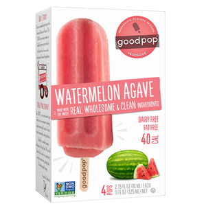 Good Pop Frozen Bars - Watermelon Agave