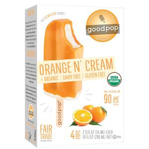 Good Pop Frozen Bars - Orange & Cream
