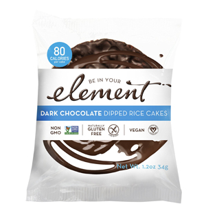 Element Rice Cake - Dark Choc Covered