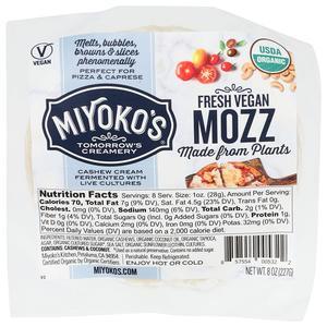 Miyokos Creamery - Fresh Vegan Mozz