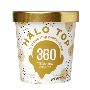 Halo Top Light Ice Cream - Cookie Dough