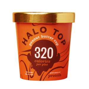 Halo Top Light Ice Cream - Peanut Butter Cup