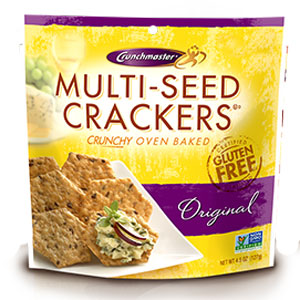 Crunchmaster Multi Seed Gluten Free Crackers