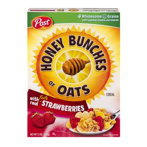 Honey Bunches Of Oats Strawberry Cereal