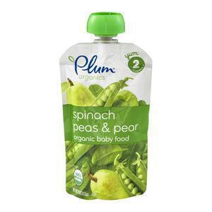 Plum Organics Spinach Peas Pears