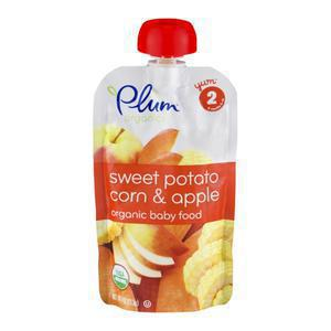 Plum Organics Sweet Potato Corn Apple