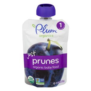 Plum Organics Just Prunes