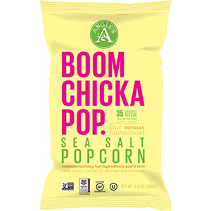 Angies Boom Chicka Pop Popcorn - Sea Salt