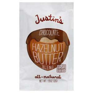 Justins Squeeze Pack - Chocolate Hazelnut Butter