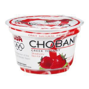 Chobani Yogurt 0% Strawberry
