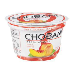 Chobani Yogurt 0% Peach