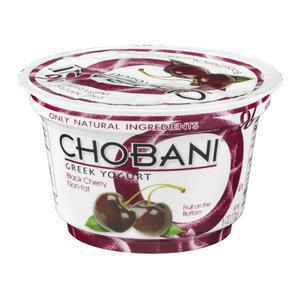 Chobani Yogurt 0% Black Cherry