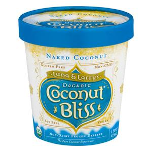 Coconut Bliss Ice Cream Naked Coconut