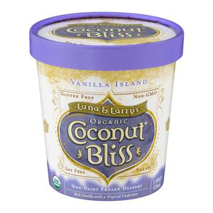 Coconut Bliss Ice Cream Vanilla Island