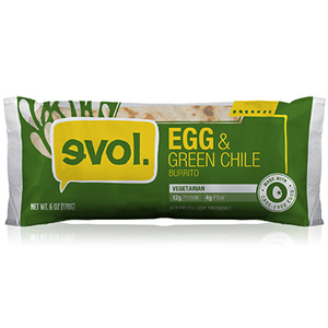 Evol Burrito - Egg and Green Chile