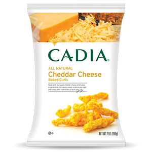 Cadia Cheddar Cheese Baked Curls
