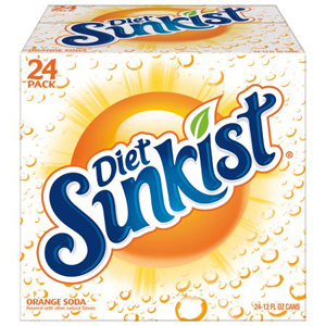 Diet Sunkist Orange