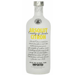 Absolut Vodka - Citron