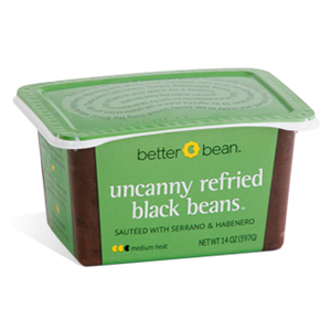 Better Bean Uncanny Refried Black Bean Tub