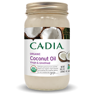 Cadia Organic Coconut Oil - Virgin Unrefined