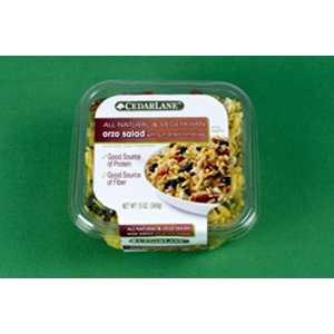 Cedarlane Orzo Salad with Sundried Tomato