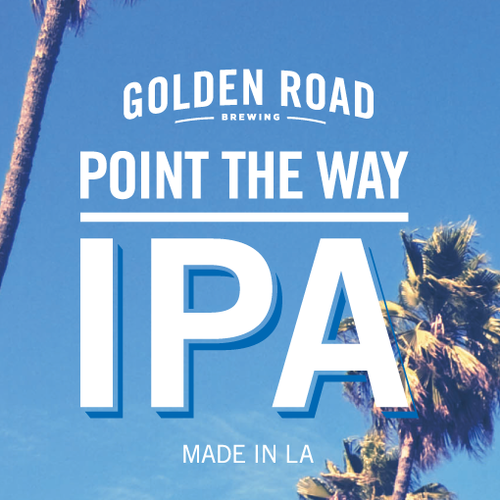 Golden Road IPA - Point the Way
