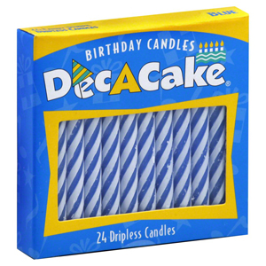 Dec A Cake Spiral Birthday Candles