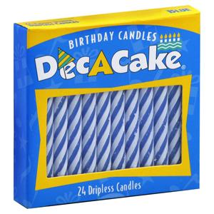 Dec A Cake Spiral Birthday Candles
