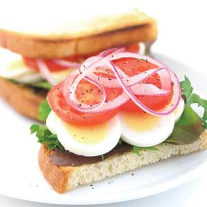 Egg & Salad Sandwich