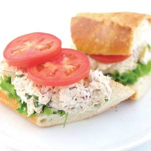 Fancy Chicken Salad Sandwich