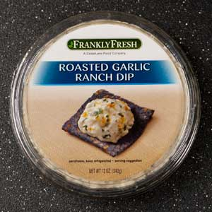 Frankly Fresh Roasted Garlic Ranch Dip