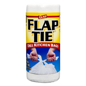 Glad Trash - Kitchen Flap Tie