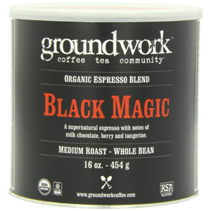 Groundwork Coffee - Black Magic Whole Bean Esp