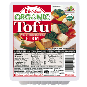 House - Organic Firm Tofu