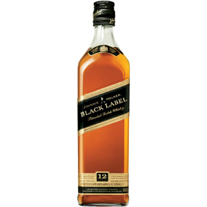Johnnie Walker Black Scotch Whiskey