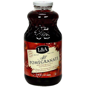 L & A Juice - All Pomegranate