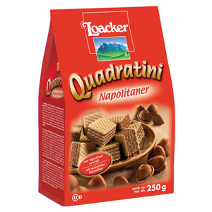 Loacker Quadratini Hazelnut
