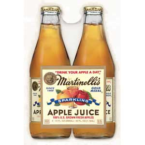 Martinelli`s Sparkling Apple 10oz