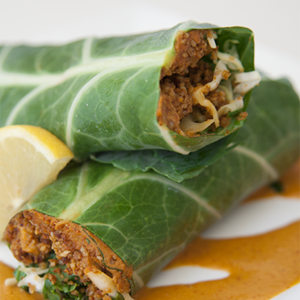 M&L`s Vegan Kitchen - Sunseed Chorizo Wrap