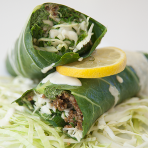 M&L`s Vegan Kitchen - Pepita Pesto Wrap