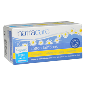 Natracare Tampons - Super w/ Applicator