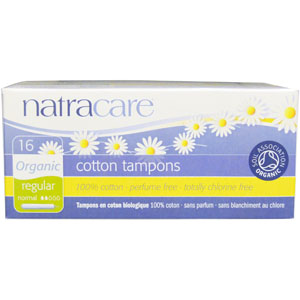 Natracare Tampons - Regular w/ Applicator