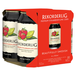Rekorderlig Strawberry Lime Hard Cider
