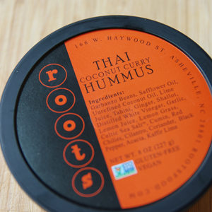 Roots Hummus - Thai Coconut Curry