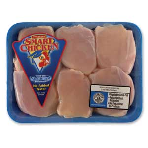 Smart Chicken Thighs - Boneless Skinless