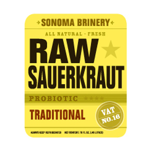 Sonoma Brinery Raw Sauerkraut