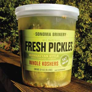 Sonoma Brinery Whole Pickles - Manhattan Style