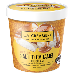 LA Creamery Ice Cream - Salted Caramel